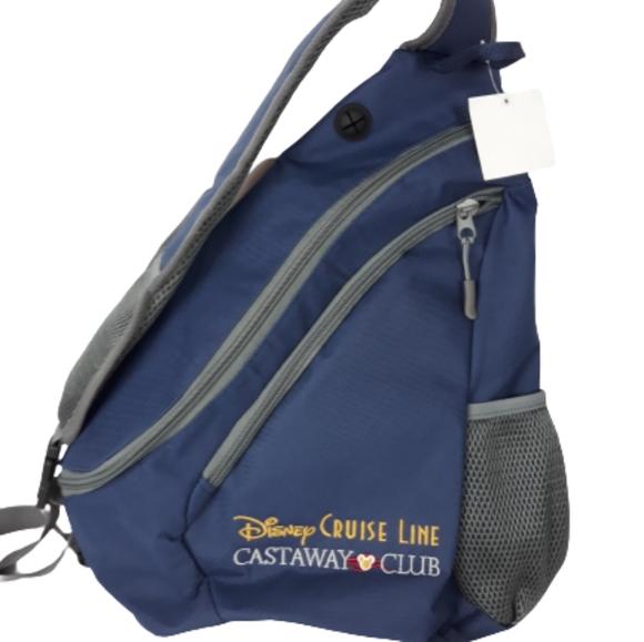 NWT Disney Cruise Castaway shoulder backpack bag